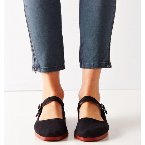 fa5d61ff0300 Urban Outfitters - Cotton Mary Jane - Black. NWT